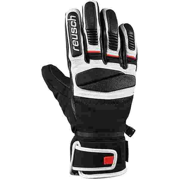 Reusch Mastery Skihandschuhe black-white-fire-red