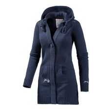 Gotcha Summer Denieze Strickjacke Damen navy