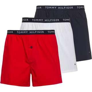 Tommy Hilfiger Boxer Herren desert sky-white-primary red