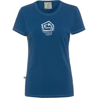 E9 LIQUID Klettershirt Damen royal-blue
