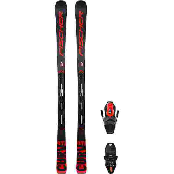Fischer THE CURV DTI AR + RS 11 PR Race Carver blue-red