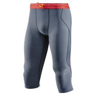 Skins S3 Thermal 3/4 Tight Tights Herren Charcoal