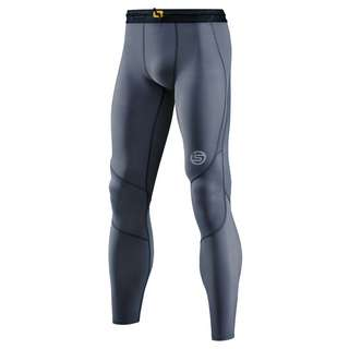 Skins S3 Long Tights Tights Herren Charcoal
