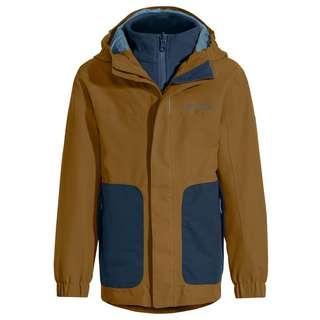 VAUDE Kids Campfire 3in1 Jacket IV Doppeljacke Kinder bronze