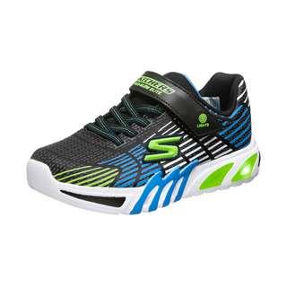 Skechers Flex-Glow Elite Sneaker Kinder schwarz / blau