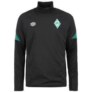 UMBRO SV Werder Bremen Drill Funktionssweatshirt Herren schwarz / grün
