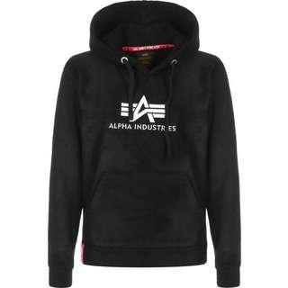 Alpha Industries Basic Polar Fleece Hoodie Damen schwarz