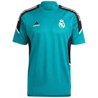 adidas Real Madrid Fanshirt Herren petrol / schwarz