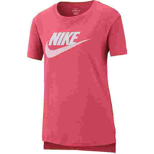 Nike NSW FUTURA T-Shirt Kinder archaeo pink-white-pink foam