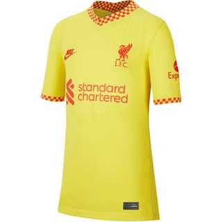Nike FC Liverpool 21-22 3rd Trikot Kinder chrome yellow-rush red