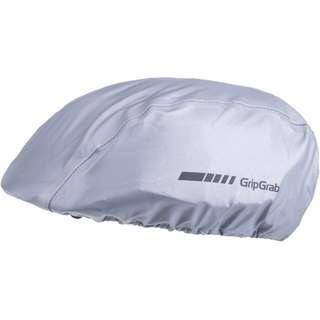 GripGrab Reflective Helmet Cover Fahrradhelmüberzug grey