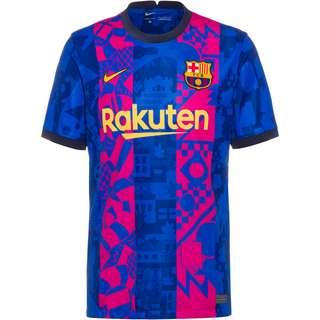 Nike FC Barcelona 21-22 3rd Trikot Herren hyper royal-varsity maize