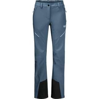Jack Wolfskin GRAVITY SLOPE Softshellhose Damen frost blue