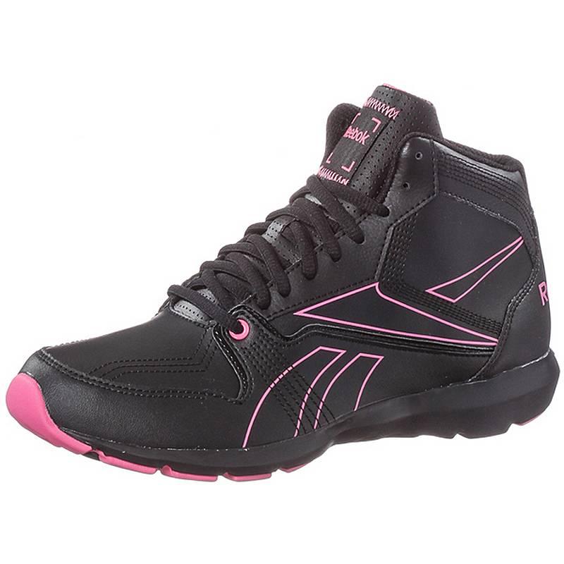 Reebok Studio Beat Mid Fitnessschuhe Damen schwarz pink im Online ... 2690a4d6637