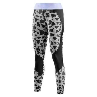 Skins S3 Long Tights Tights Damen Animal Black