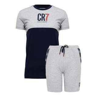 CR7 Cristiano Ronaldo Shorty Kids Pyjama Kinder Navy