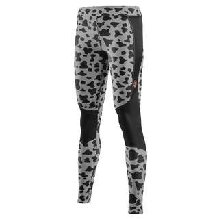 Skins S5 Long Tights Tights Damen Animal Black