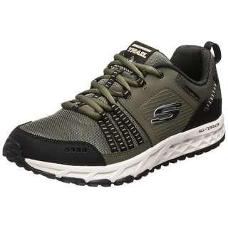 Skechers Oak Canyon Iron Hide Fitnessschuhe Herren oliv / schwarz