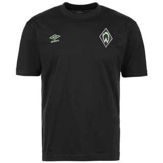 UMBRO SV Werder Bremen Travel Fanshirt Herren schwarz