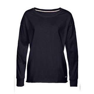 Buffalo Langarmshirt Damen schwarz