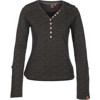 Ragwear Pinch Longshirt Damen schwarz
