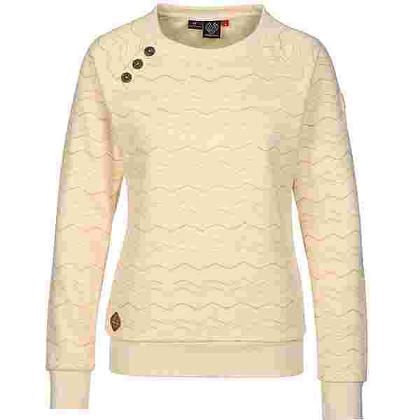 Ragwear Daria Chevron Sweatshirt Damen gelb