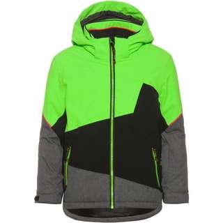 KILLTEC Skijacke Kinder neon-grün