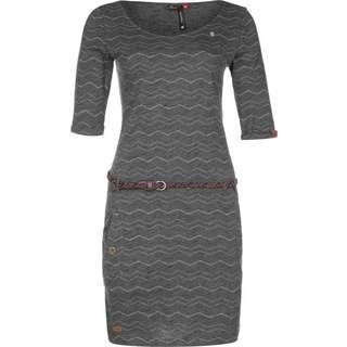 Ragwear Tanya Chevron Kleid Damen grau