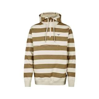 Cleptomanicx Hooded Stripe Kapuzenshirt Herren Peyote