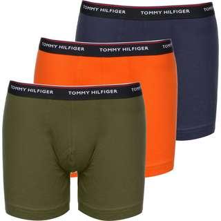Tommy Hilfiger 3 Pack Boxershorts Herren grün/blau/orange