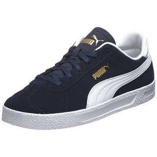 PUMA Club Sneaker Herren dunkelblau / weiß
