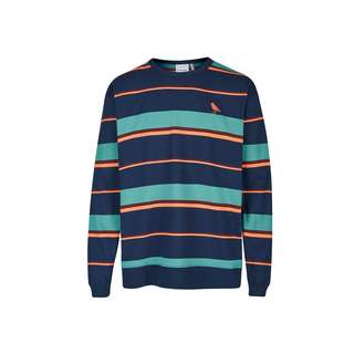 Cleptomanicx Coasting Sweatshirt Herren Dark Navy