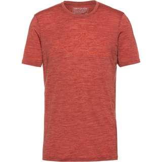 ORTOVOX Merino 150 COOL Funktionsshirt Herren clay orange blend