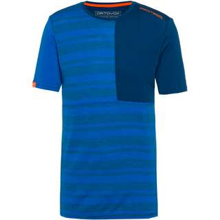 ORTOVOX Merino 185 ROCK'N'WOOL Funktionsshirt Herren just blue