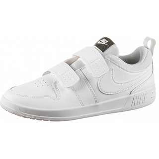Nike PICO 5 Hallenschuhe Kinder white-white-pure platinum