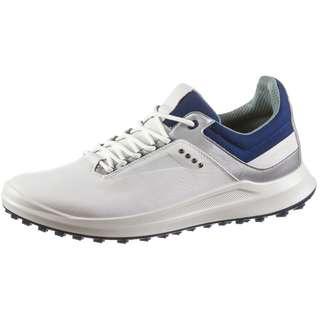 ECCO Core Golfschuhe Herren whitesilver mettalicblue