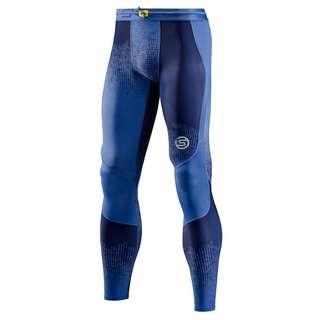 Skins S3 Long Tights Tights Herren Dot Fade Blue