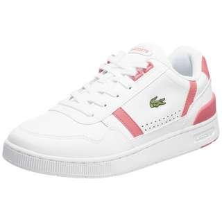 Lacoste T-Clip Sneaker Damen weiß / rosa