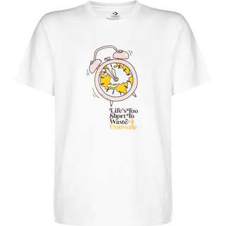 CONVERSE Renew Life's Too Short T-Shirt Herren weiß