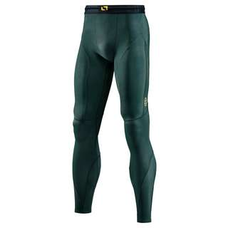Skins S5 Long Tights Tights Herren Forest Green