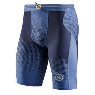 Skins S3 Half tights Tights Herren Dot Fade Blue