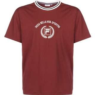 FILA Chinelo T-Shirt Herren weinrot