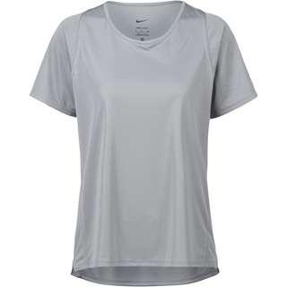Nike Dri-FIT Race Funktionsshirt Damen particle grey-reflective silv
