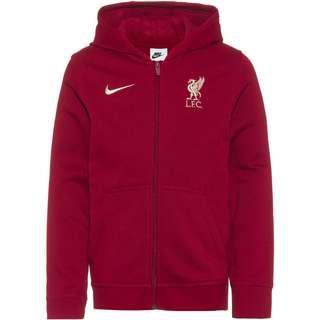 Nike FC Liverpool Sweatjacke Kinder team red-fossil