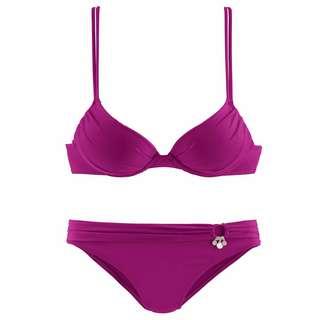 S.OLIVER Bikini Set Damen fuchsia
