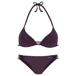 BRUNO BANANI Bikini Set Damen bordeaux