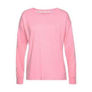 Buffalo Langarmshirt Damen rosa