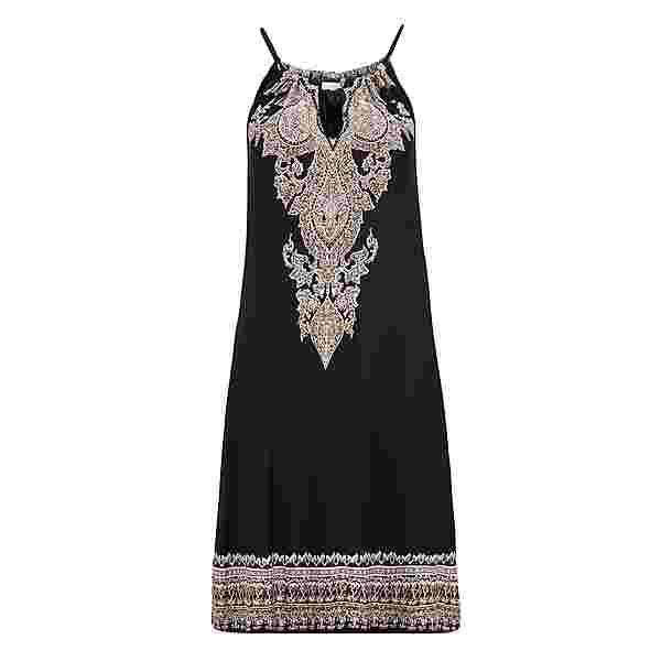 Lascana Kleid Damen schwarz-bedruckt