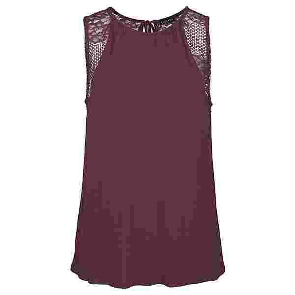 Lascana T-Shirt Damen mauve