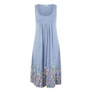 BEACH TIME Kleid Damen blau